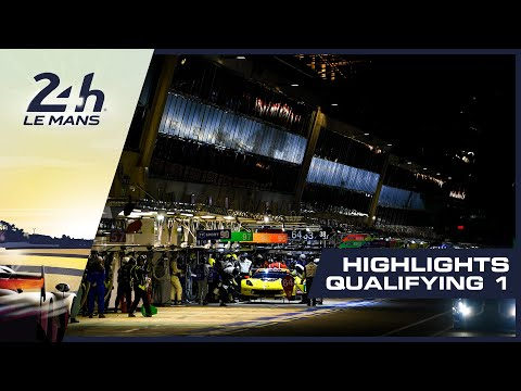24 Heures du Mans - Highlight of the first qualifying session