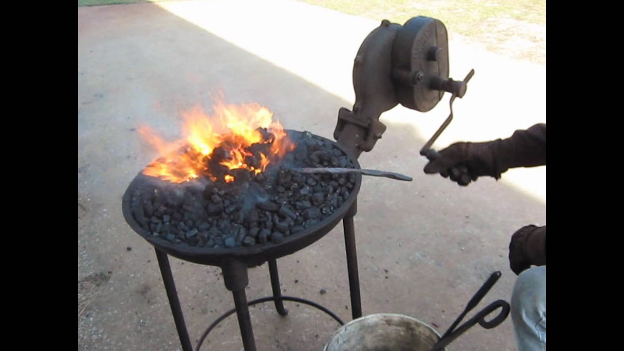 Homemade Coal Forge Plans