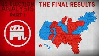 US Election Analysis — Part 1 — The Final Results
