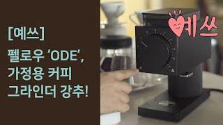 [예쓰] 커피 그라인더, 펠로우 'Ode' 리뷰