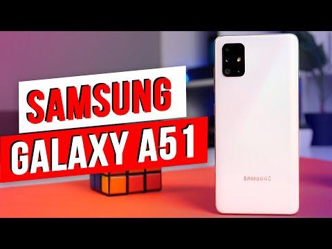 Samsung Galaxy A51 / Знакомимся с новинкой