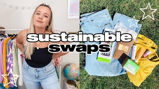 how to make EASY, affordable, SUSTAÏNABLE swaps *for beginners*!