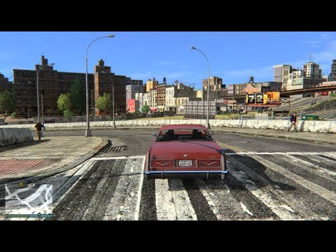 Grand Theft Auto IV Remastered: Ultra Settings Concrete Jungle CRYENB Over 50 Mods Showcase |