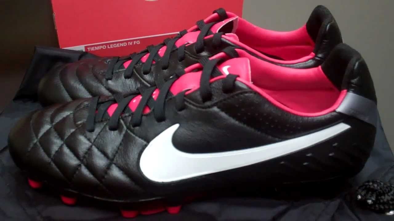 0ab350915e0 Nike Tiempo Legend IV (Black Challenge Red White) Unboxing and Review
