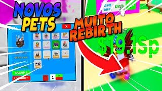 PLATE OF 25MIL REBIRTHS NEW AREA, HATS AND PETS EPIC MAGNET SIMULATOR UPDATE! -ROBLOX