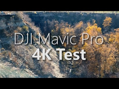 DJI Mavic Pro - 4K Quality Test - Fall Colours In Canada