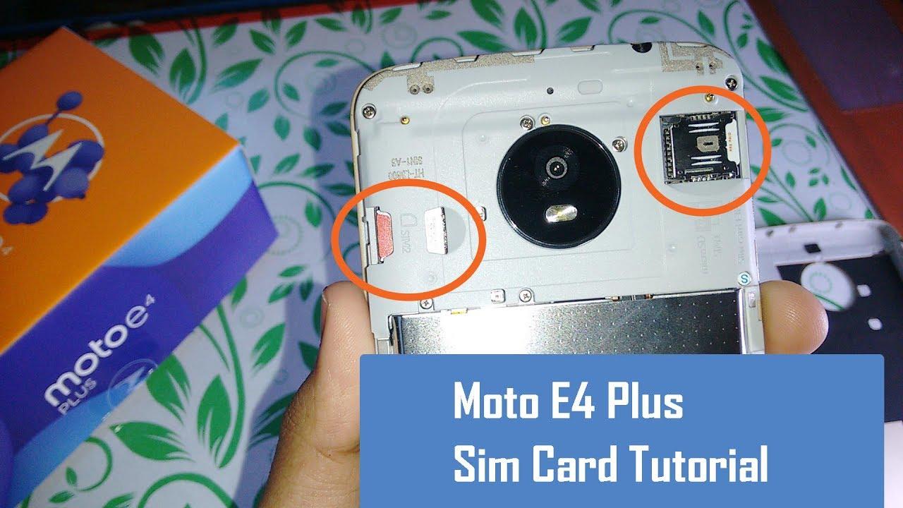 how to add memory to moto e2