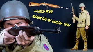 Unboxing My Original WW2 M1 Carbine - HOW to install the Pouch and Strap + REVIEW WWII US Uniform!