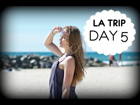 LA trip DAY 5: surfing, party, CUTE GUY, Santa Monica!!