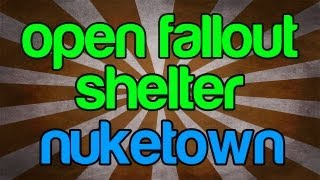 Nuketown Zombies - Open Fallout Shelter Easter Egg Almost Complete