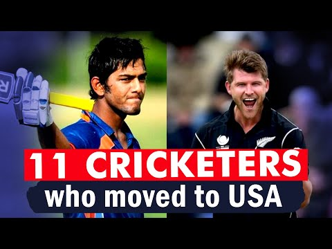 11 Cricketers who moved to USA for Better opportunities