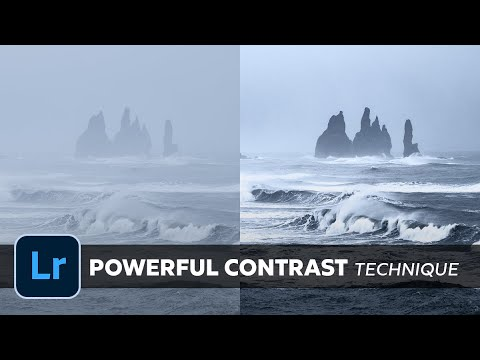 How to Improve CONTRAST in LANDSCAPE Images with LIGHTROOM - The Special TRICK