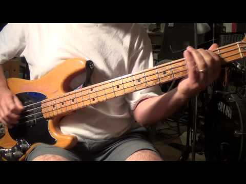 Cowboy Song Bass (In the Key of 'A')