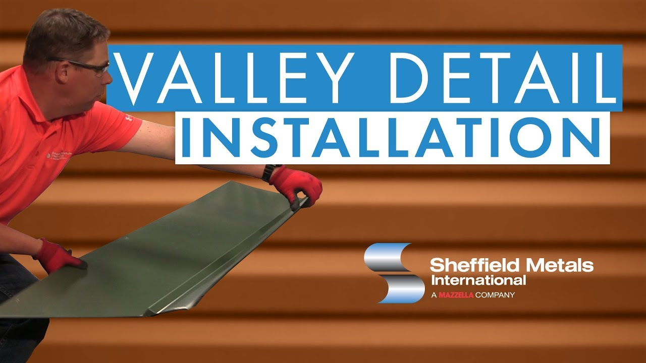 Standing Seam Metal Roofing Installation Valley Detail Youtube