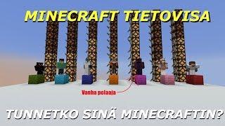 Minecraft tietokisa: Tunnetko sinä minecraftin?