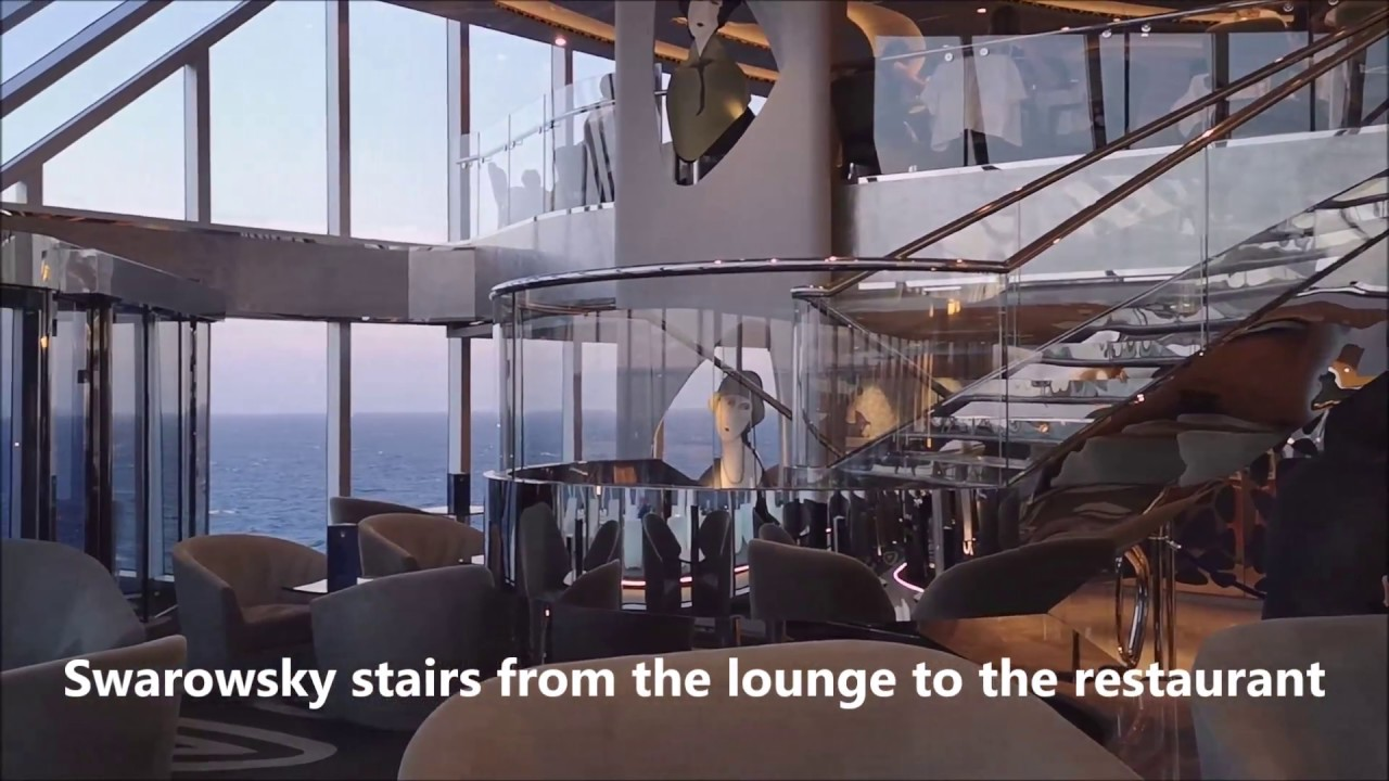 MSC Seaview, The Yacht Club Top Sail Lounge and Restaurant ...