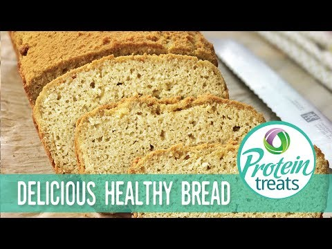 Low Carb Coconut Bread Recipe - Protein Treats by Nutracelle