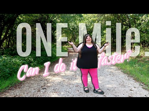 Walking 1 mile for time with 200 lbs to lose | Can I do it faster? Weigh in #10 |Weight Loss Journey