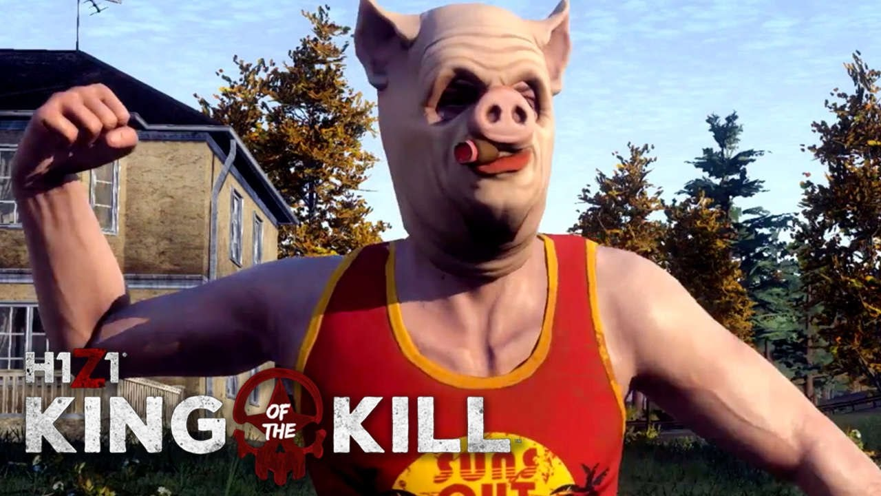 how to get good at h1z1 king of the kill