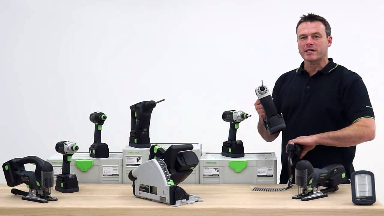 festool tv folge 60 18 volt unplugged festool powerselect youtube. Black Bedroom Furniture Sets. Home Design Ideas