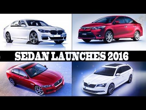 New Upcoming Sedan Cars in India 2016 (Part 2 )