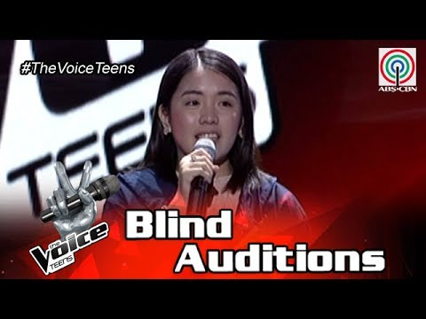 The Voice Teens Philippines Blind Audition: Patricia Luna - Angel