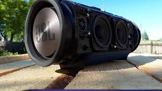 Bass test JBL XTREME MEGA FAIL