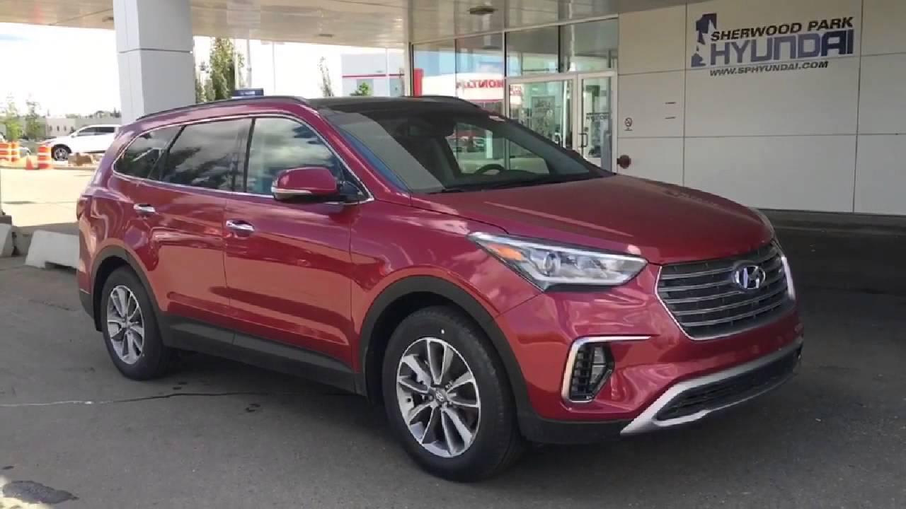 2017 Hyundai Santa Fe Xl Luxury In Depth Walk Around Sherwood Park Hyundai Youtube