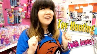 Toy Hunting (with Jenny) - Play-Doh, My Little Pony, Shopkins, Adventure Time and MORE!