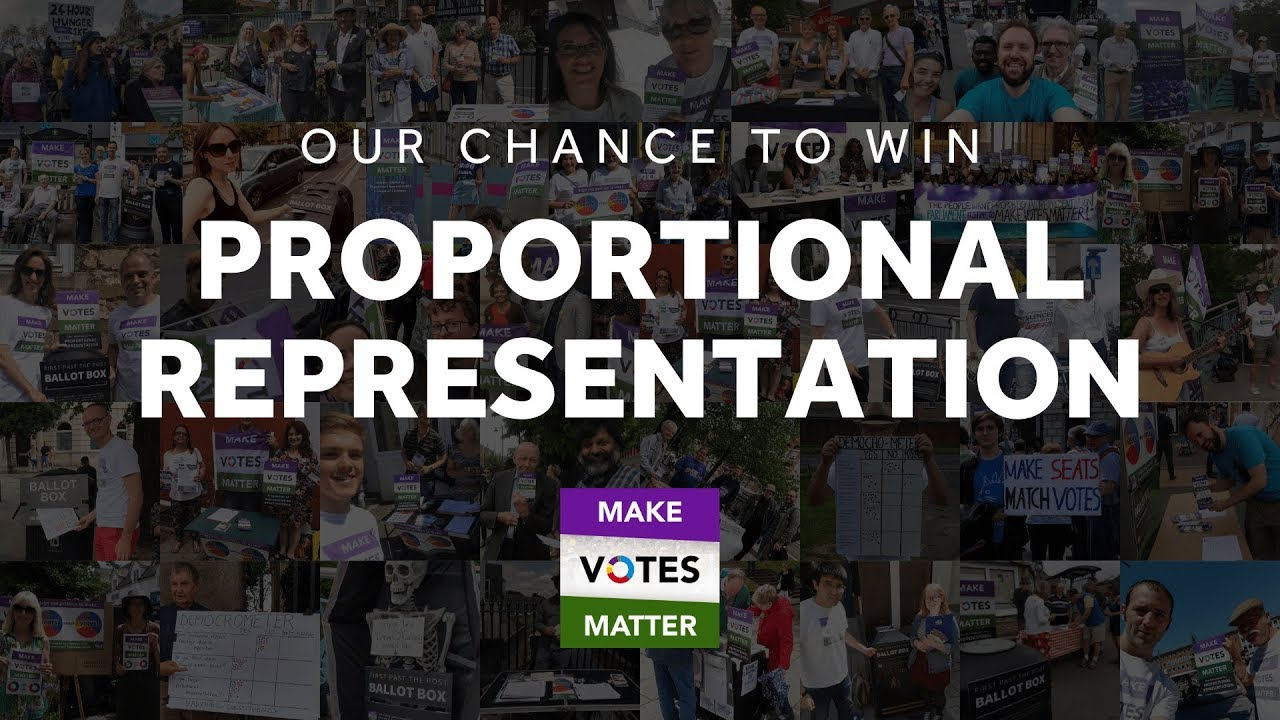 YouTube: Our chance to win Proportional Representation