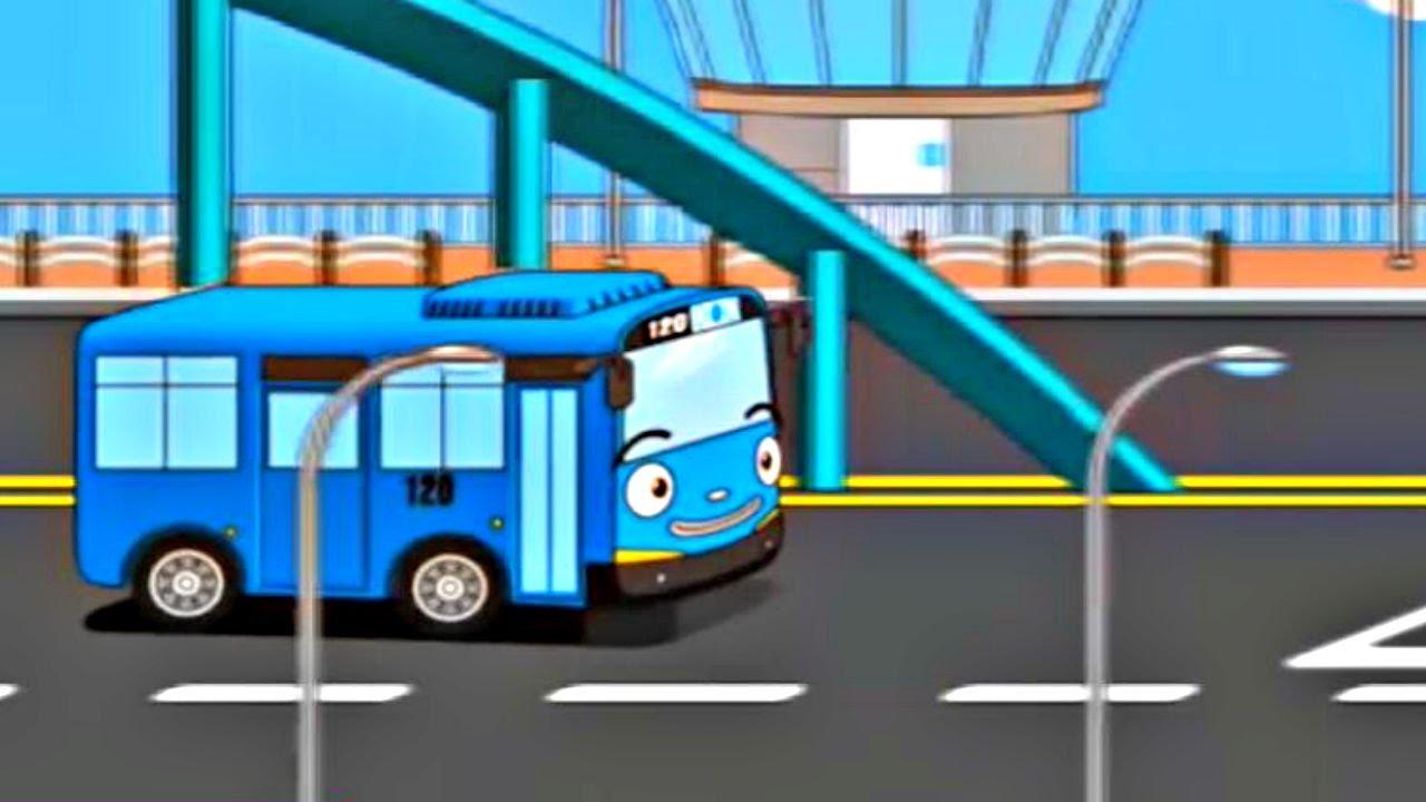 Lehrreicher Zeichentrickfilm - Tayo der kleine Bus - Teil 1