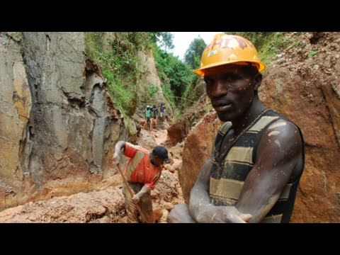 Congo Unemployment: Youths dig for gold as job scarcity persists
