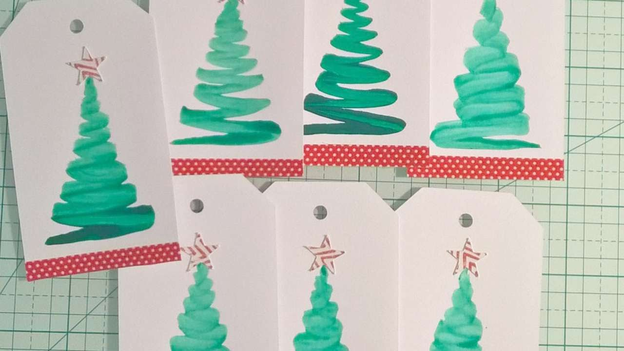 How To Make Watercolour Gift Tags Diy Crafts Tutorial Guidecentral