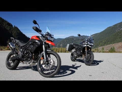 Triumph Tiger 800 XC and Tiger Explorer 1200 Review: Cat Video