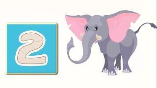 Би-Би Знайки – Цифра 2 - мультфильм про машинки – учим алфавит