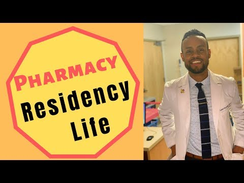 Life As A Pharmacy Resident