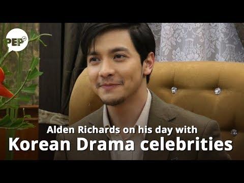 Alden Richards, nagkuwento ng experience niya kasama ang Korean Drama celebrities