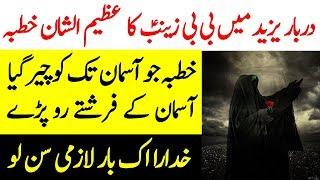 Hazrat BiBi Zainab Ka Yazeed Kay Darbar Main Khutba | BiBi Zainab Ka Khutba