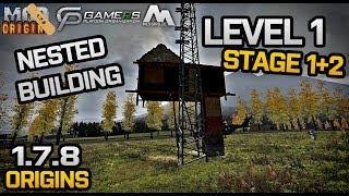 Tutorial: Nested Buildings Level 1 - Origins Mod 1.7.8