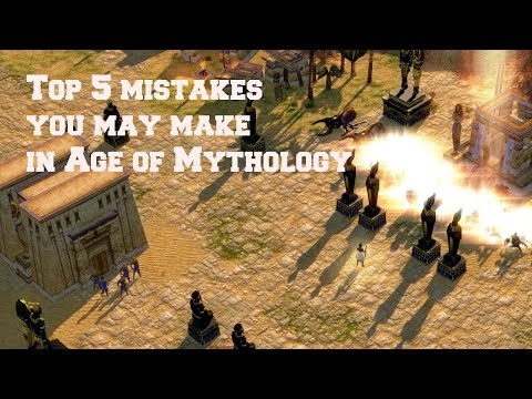 Top 5 Mistakes people make in AOM