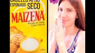 Maizena Para el Cabello Afro Rebelde Esponjado Feo / Cornstarch for Afro, Frizzy and Dry Hair