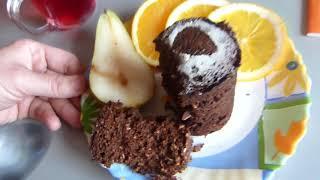 Вкусный завтрак за 5 минут/Шоколадный кекс без сахара/Royal Forest