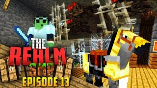 Minecraft PE Realms SMP - Ep.13 : Pranking!/Spider Farm/New Horse!
