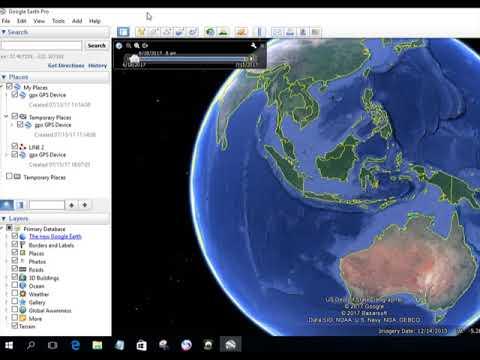 memasukan data shp ke google earth.
