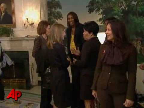 First Lady Meets With Alicia Keys