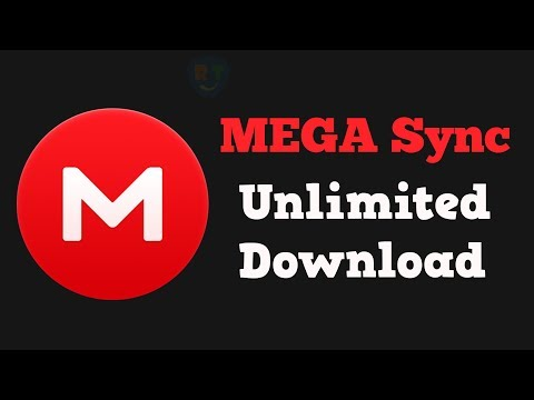 Download MEGA Files Using MegaSync Without Limits (Working
