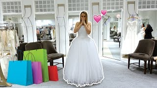 SHOPPING FOR MY DREAM WEDDING DRESS! 👰