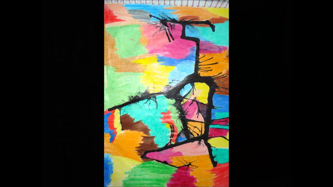 Artes Visuais Técnicas de Pintura - YouTube