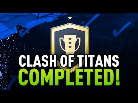 Clash Of Titans Advanced SBC Completed - Tips & Cheap Method - Fifa 20