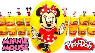 Mini Mouse Dev Sürpriz Yumurta Oyun Hamuru - MLP Cicibiciler LPS Minnie Mouse